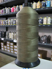 Dark Tan Tex-210, Size 207 Nylon Bonded, 16oz spool