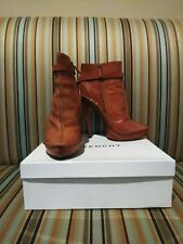 Givenchy Cognac Booties 39