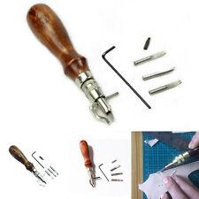 7 in 1 Attrezzo artigianale in pelle multiuso Cucire e piegare l'utensile CRIT