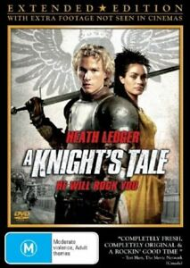 A Knight's Tale DVD (BRAND NEW & SEALED) fast safe shipping & tracking