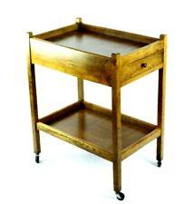 Vintage Oak 2 tier Tea Serving Trolley - FREE Shipping [P4804]