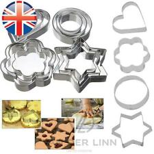 *UK Seller* Stainless Steel Shape Cookie Cake Egg Icing Mould Mold Cutter