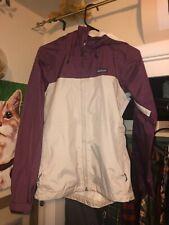 $129.99 Patagonia Purple/White Torrentshell Womens Rain Jacket Coat Medium