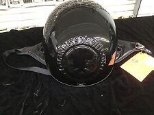 Harley Davidson Helmet Willie G. 3D Skull Gloss Black 97362-06V/002L XL New NOS