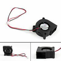 Brushless DC Cooling Blower Fan 12V 5020s 50x50x20mm 0.18A Sleeve 2 Pin Wire US