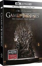 GAME OF THRONES - SEASON 1  (4K ULTRA HD ) - Blu Ray -Region free