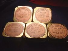 (5) Very Old Elgin Factory 18 Size Pocket Watch Movement Holders! #700