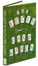 FOLIO SOCIETY BOOK OF CARD GAMES ~ ILLUSTRATIONS BY CLARE MACKIE ~ HC ~ NEW