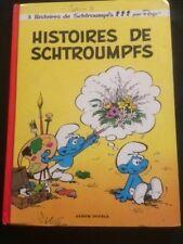 BD HISTOIRE DE SCHTROUMPFS - 3 HISTOIRES   (1976)  (PEYO)  BD40