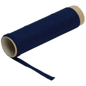 Griffwickelband pro Meter Baumwolle blau