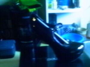 Highest Heel Collection Kissable 71 Black Patent PU B PAT Size 13 US DRAG