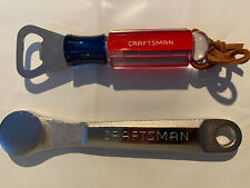 Set Of 2 Craftsman Bottle Cap Openers - Great Gifts Wrench & Screwdriver Styles