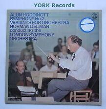 TPLS 13013 - HODDINOTT - Symphony No 2 DEL MAR London SO - Ex Con LP Record