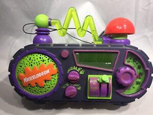 VTG Nickelodeon Time Blaster Rise & Slime Alarm Clock Radio*Read Description*