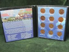 10th Anniversary of the Euro - 12 5 Euro Cent Coin Collection