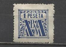 7149-ANTIGUO SELLO FISCAL MUTUALIDAD FUNCIONARIOS MINISTERIO JUSTICIA 1 PESETA