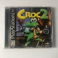 Croc 2 (Sony PlayStation 1, 1999) CIB Complete Black Label PS1 RARE