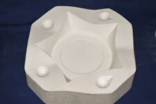 Vintage Ceramic Pottery Slip Casting Mold - Holland - Large 5 Point Star #H771