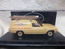 HX HOLDEN PANEL VAN BUCKSKIN BEIGE COLOUR ELECTRICAL VAN TRAX TR47B