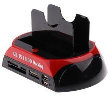 Soporte para Disco Duro SATA Adaptador Enchufe Cable USB Controlador de CD