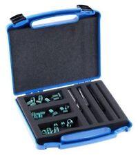 Reparaci/ón Tap/ón de vaciado de aceite de sumidero Reroscador Kit M12 a M13 rosca