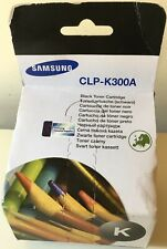 Samsung CLP-K300A Black Laser Toner - New and Sealed