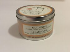 Crabtree & Evelyn Rare Gardeners Outdoor Candle with essential Oils 10 oz tin