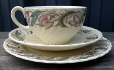 Retro Susie Cooper 'Endon' Cabinet Trio  C.1938 Pattern 1417  Cup Saucer Plate