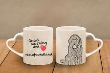 """Neufundländer - ein Becher """"Good Morning and love, heart"""" Subli Dog, CH"""