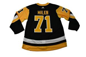 adidas Mens Pittsburgh Penguins Evgeni Malkin Authentic Jersey NWT 42,46,52,56