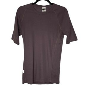 Icebreaker Merino Wool Bodyfit Basics 200 Brown Medium