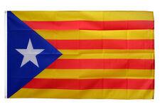 Catalonia Flag 5 X 3 FT - Separatist Catalan Barcelona Spain ESTELADA Blava Star