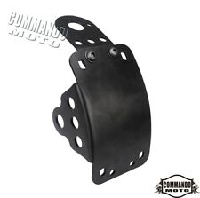 Motorcycle Side Mount License Plate Bracket For Harley Chopper Bobbers Cruisers