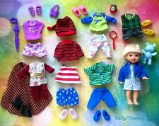 🚤🚤🚤Large lot Mattel Barbie Kelly,Tommy doll clothes, and shoes🚜🚜🚜
