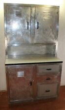 1950's Spitfire metal cabinet made from Spitfire Plane Metal Recycled