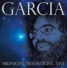 JERRY GARCIA - MIDNIGHT MOONLIGHT? LIVE 2 CD NEU