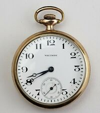 Jewel Pocket Watch Waltham Ps Bartlett 17