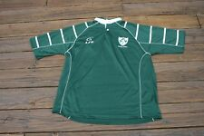 Rugby Adult 2XL Green Live For Rugby shirt