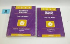 1996 Dodge Colt Eagle Summit Factory Service Manual Set  GOOD USED CONDITION 8