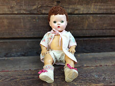 Vintage American Character Doll with Cloth Diaper and Safety Pin