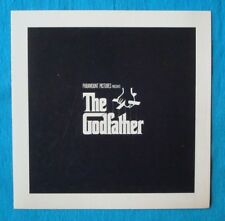RARE 1972 *The GODFATHER* Advance/Preview Screening Program COPPOLA Pacino PUZO