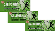 3 BOXES CALIFORNIA DIETERS DRINK EXTRA STRENTH TEA 1.76 OZ.