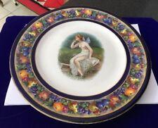 Vintage Art Deco Baker & Co Ltd Fairy Fairies Plate Fruit Pattern Border - B