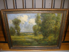 LISTED CANADIAN ARTIST 19/20thC DEAN BRADFORD OIL CANVAS LANDSCAPE SIGNED