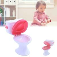 Toy Toilet Accessories Plastic Doll Toys Doll House Furniture Bathroom TOP F7L8
