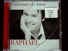Raphael - Canciones De Amor USA CD Sealed LATIN