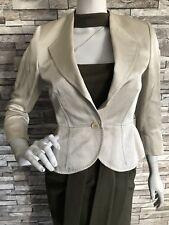 JAEGER WOMEN Blazers JACKET Off~Beige/ Business /Size: 🇬🇧 UK 10