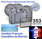 PROTECTION VERRE ECRAN LCD NIKON D3200 D5200 D5300 D610 D700 D750 D800 D7100.