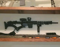 AR-15 Wall Mount! MOUNT AT ANY ANGLE! STRONG AND SECURE