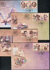 1047 SERBIA 2016 - Art - Writers - Bulgakov- Composer A.Dvorak - Painter - FDC